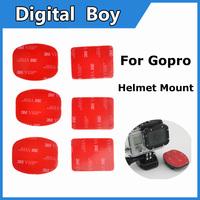 2014 NEW 6pcs Sticker TMC 3M Set Go pro for Gopro Helmet Mount HD HERO /2/3 ST14 x6pcs Fast delivery