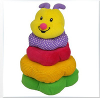 New 2014 Hot Selling Special Cute Educational Colorful  Honey Building Toy Set of 5 Pieces