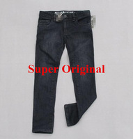Free Shipping Spring 2014 top quality Super Skinny Girl Jeans All Match Trousers for age 4 to 14 Qty Limited