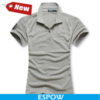 New Big Horse Brand Blusa Feminina Cotton Elegant Grey 2014