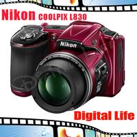 Nikon COOLPIX L830 16-20 MP CMOS Digital Camera with 34x Zoom Lens