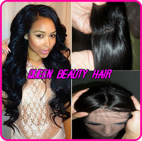 130%density brazilian virgin hair silk top lace front wig/glueless silk top full lace wigs with baby hair for african americans