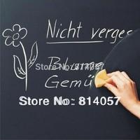100 PCS FedEx Free Shipping 45*200CM Vinyl Chalkboard Wall Stickers Removable Blackboard Great Gift for Kids Blackboard Sticker