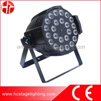 New product led par 64 light 24X15w 5 in 1 rgbwa led par light