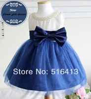 2014 Children Formal dress baby girl dress princess performance wear flower girl dress for costume formal piano dress 1-10age