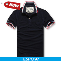 Wholesale Branded New Camisa Social Masculina Cotton Solid Blue