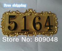 Four-digit villa apartment house number/hospital/village house number