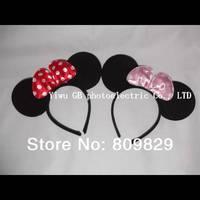 Mickey mouse ear children accessories kids Hair accessories girl boy headband kids birthday party supplies decorations minnie