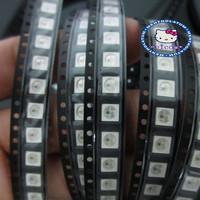100 PCS  DC5V WS2812B Dream Color LED Chip  Large Stock For Strip Screen