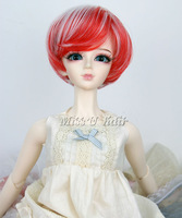 "1/3 BJD Doll Hair Wig 8-9"" SD DZ DOD LUTS Short Straight Fashion BOB doll accessories"