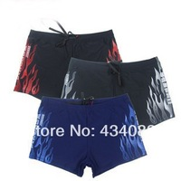 Free shipping cheap 2014 new spring summer Bribed boxer swimming trunk male fashion hot springs swimming trunks