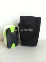 10pcs/lot + Protect bag wear-proof Blood Oxygen SpO2 saturation oximetro monitor Fingertip Pulse Oximeter Beep sound & Alarm