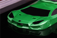 Lot 0f 5 G4-050 Unique Green Racing car hard case for Samsung Galaxy S4 i9500 i9505 Bull Lanborghini