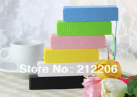2600mAh perfume mini Power Bank universal USB External Backup Battery for iPhone 4s 5 5c, samsung I9500 s3 note2, 20pcs/lot
