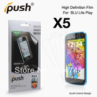 Ipush Collection 5 Pack Of High Definition (HD) Clear Screen Protector Guard For BLU Life Play Protective Film Free Shipping