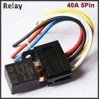 eneral automotive relay socket 5pin 12v 24v 30a relay and socket violet relay