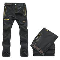 free shipping men's trousers hiking trekking outdoor sports camping mountainpants pants quick-dry climbing pants LXLXXL3XL4XL