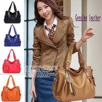 2014 NEW Women handbags Genuine Leather Messenger Bags Unique Shoulder Bag desigual famous designers brands Totes