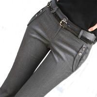 women female trousers bell-bottom Speaker OL  ladies trousers formal women harem pants slim suit pants plus size S-XXXL