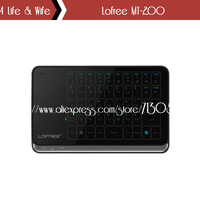 2.4GHz Wirless Mini Lofree MT-200 Multi-Touch Touchpad Keyboard For Desktop Laptop