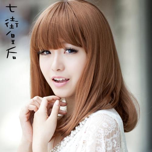 la cabeza pera peluca de pelo corto femenino peluca de pelo corto liu