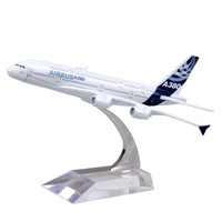 New arrival children toys alloy model boeing 777 model airplane A380 nice present toys free shipping
