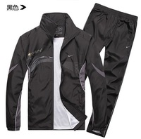 New 2014 Brand men tracksuit hoodies set sportswear coat spring autumn sports leisure jogging sport suit jacket Sweatshirts sets