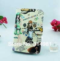 "Cartoon Colorful Leather Case Cover for 7"" Tablet PC MID 7inch Tablet Stand Case tablet universal case"