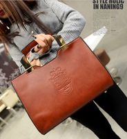 2014 women's handbag bags fashion punk women's handbag vintage one shoulder handbags