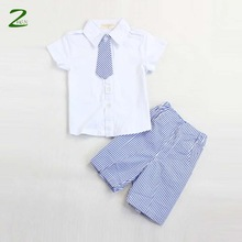 [zhen] Summer New 2014 Boys clothing set children's solid t shirt + shorts sets baby clothing set kids casual sets retail(China (Mainland))