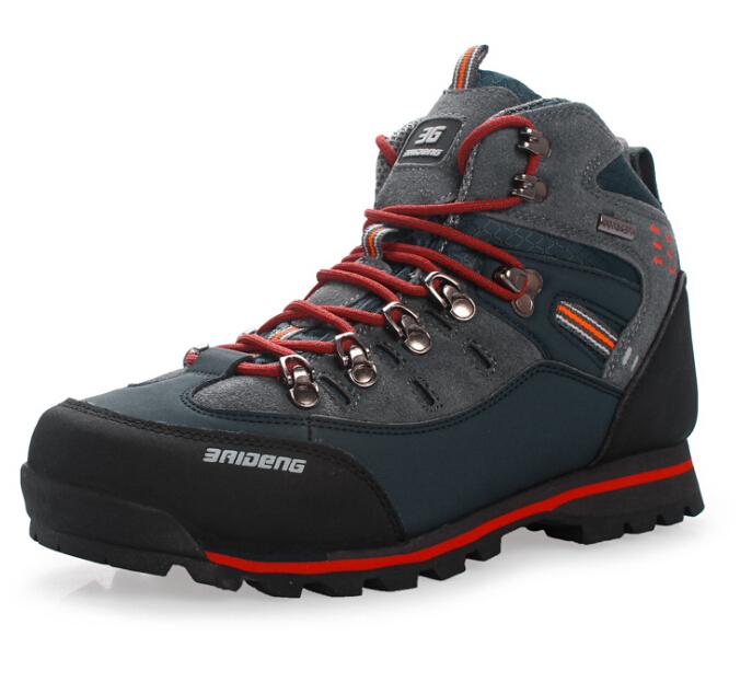 Nouveaux hommes 2014 respirant. espadrilles imperméable à l'eau, sports de plein air chaussures de randonnée zapatillas de marque livraison gratuite