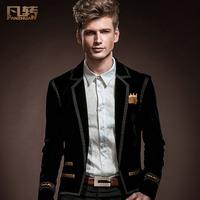 Royal men's clothing 2014 spring male suit fashion male civies casual dress slim blazer 14007