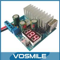 DC-DC Boost Module Mobile Power Solar Regulator 3-35V to 3-35V Voltage Meter Digital Display With USB Output Interface #200359
