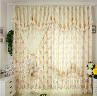 Lace curtain rustic set quality finished product