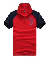 New in 2014 mma t shirt fashion short sleeve turn-down collar men t shirts free shipping