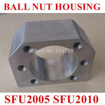 of ballscrew nut housing bracket holder for SFU 2005 SFU 2010 Aluminium Alloy Material ...
