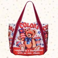 Hot sell 2014 letter Casual Canvas Bag Women's Messenger Bags Handbag Free shippment factory price Waterproof bag