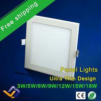 3w/5W/6W/9W/12W/15W/18W led panel lighting ceiling light DownlightAC85-265V  Warm /Cool white,indoor lighting,HOT!