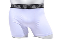 Brand Men Long Boxers 6pcs/lot Modal men's boxer shorts Wholesle Underwear Beach Short Retail