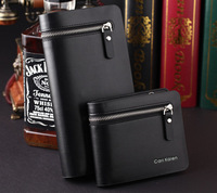 2014 new Free shipping , wholesale ,men's wallet, Brand name genuine Leather Wallet for men , Gent Leather purses hot fashion
