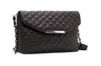 Mango Bag Women Handbag Plaid Leather Bag Chain Women Messenger Bag Shoulder Bag 2014 New Arrival Classic Women PU Handbag