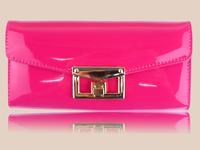 D102 Fashion new arrival 2014 quality Genuine women's long design wallet female women's leather wallet