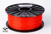 Factory sales! 6 spools 3D printer Filament PLA 3.0mm solid color FEDEX Free Shipping
