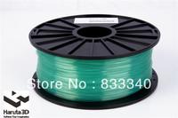 Factory sales! 6 spools 3D printer Filament PLA 3.0mm  Transparent color  FEDEX Free Shipping