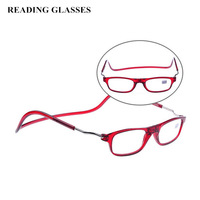 Hot Selling Presbyopic Glasses Can Be Hung Around The Neck,Portable Detachable Reader Unisex Oculos De Leitura +250\300\350 G127