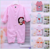 Newborn baby clothes men coveralls cotton baby Romper  baby clothes spring climbing underwear