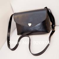 Free Shipping Hot sell evening bag Peach Heart bag women PU handbags Shoulder Bag women messenger bag