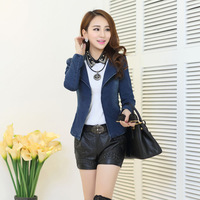fashion women clothes 2014 denim jacket, female coats, jean jacket, spring coat, casual dress, women blazers and jackets