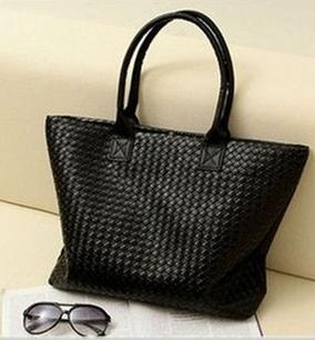 2014 New Colors Women PU Leather Handbag Tote Shoulder Bags Large Capacity PU Weave Bags Design Women Messenger Bags bolsas(China (Mainland))