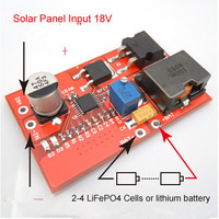 NEW 10.8V rechargeable lithium rechargeable 12.6v 3 string / solar controller / Photovoltaic Maximum Power Point Tracking (MPPT)